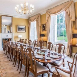 The Dining Room at Blervie House