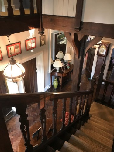 Borough Court Bed and Breakfast stairs