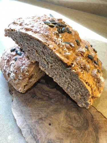 Braefield Bed and Breakfast bread