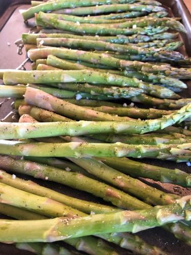 Braefield Bed and Breakfast fresh asparagus