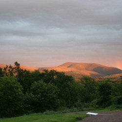 Braefield Bed and Breakfast sunset view