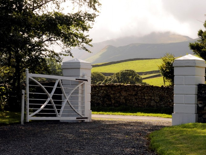 Broadgate House Bed and Breakfast entrance gate