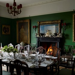Broadgate House Bed and Breakfast dining room