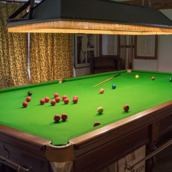 Catwell House, Quantocks B&B snooker table