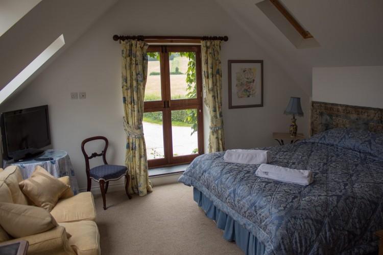 Catwell House, Quantocks B&B guest bedroom