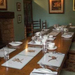 Catwell House, Quantocks B&B dining room