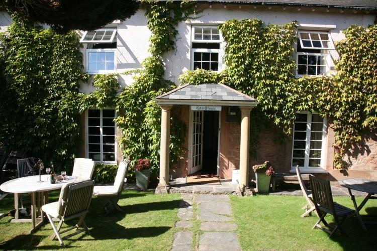 Catwell House, Quantocks B&B gardens