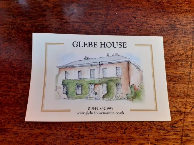 Glebe House Muston B&B drawing