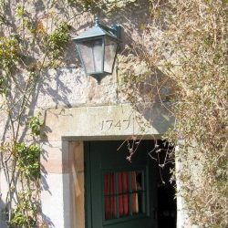 Johnby Hall B&B 18th-century-door-into-14th-pele-tower