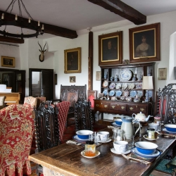 Johnby Hall B&B- Breakfast in the Great Hall