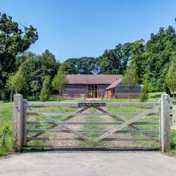 South Park Farm Barn from road