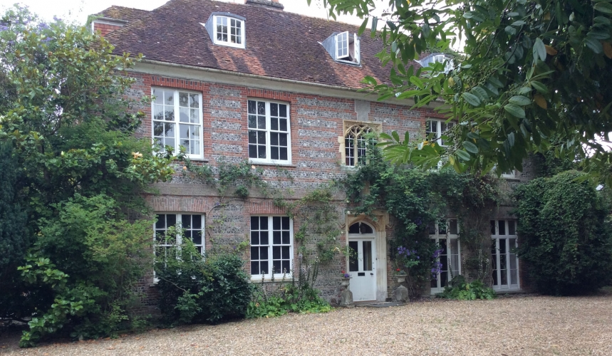 The old rectory pimperne B&B facade