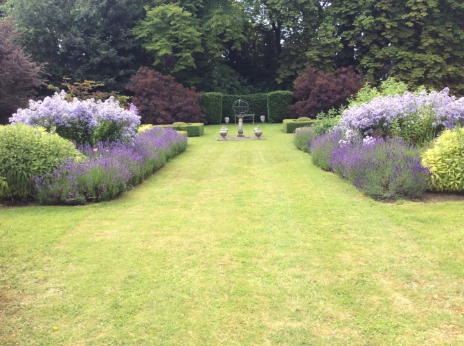 The old rectory pimperne B&B garden