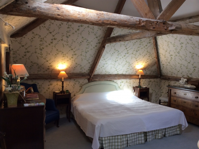 The old rectory pimperne B&B guest bedroom