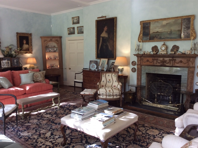 The old rectory pimperne B&B guest sitting room