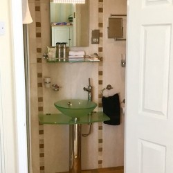 Bathroom Handbasin Atlantic House Bed and Breakfast