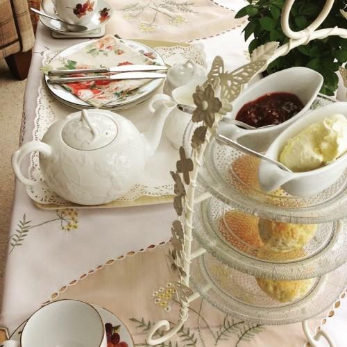 Cream Tea Atlantic House Bed and Breakfast