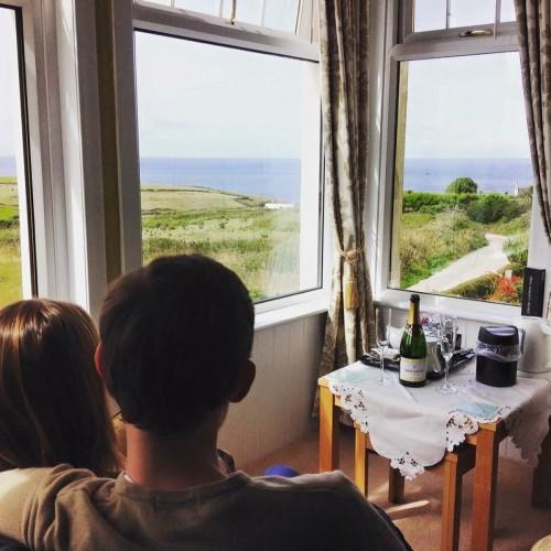 Bedroom sea view Atlantic House Bed and Breakfast