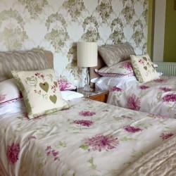 Twin Bedroom Atlantic House Bed and Breakfast