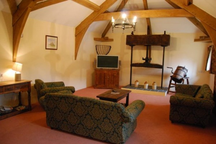 Cider Press Lounge Blackmore Farm Bed and Breakfast