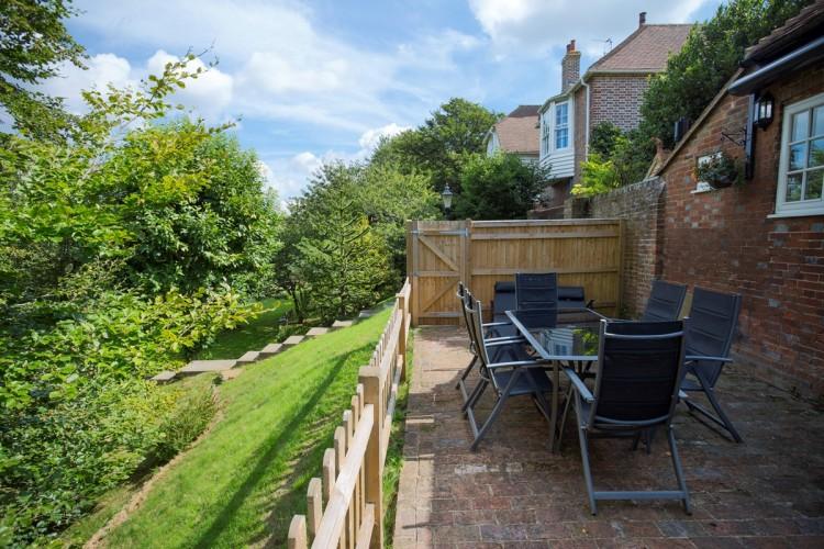 Boreham house the Stables Garden patio