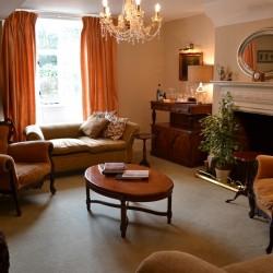 Carricks at Castle Farm B&B guest sitting room