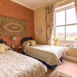 Challan Hall B&B Silverdale Bedroom