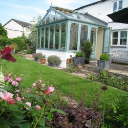 Cook House Bed and Breakfast conservatory