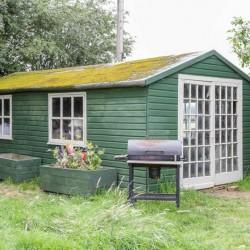 Crow Leasow B&B guest Garden house