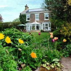 Dowfold House B&B gardens