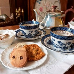 Dowfold House B&B afternoon tea