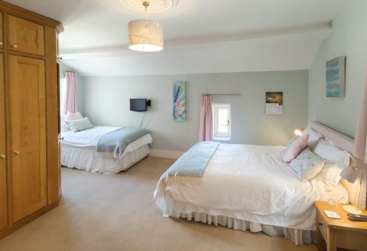 Eastwrey Barton blue bedroom 2