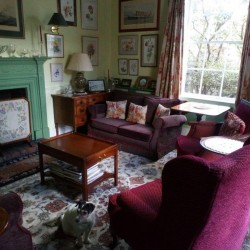 Firgrove Country House B&B guest sitting room