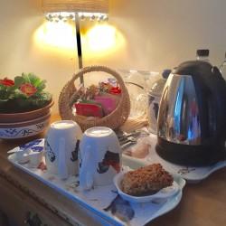 Firs Farm B&B guest hospitality tray