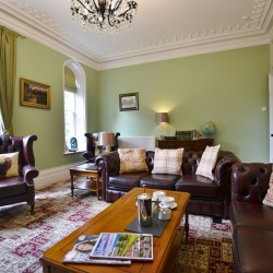 Sitting Room at Glendon House B&B
