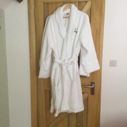 Glen Lodge, Apple Loft & Grooms bathrobes