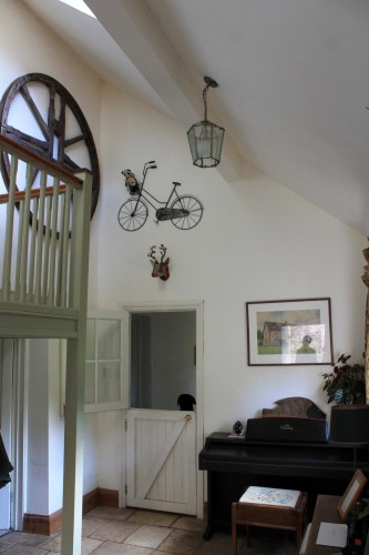 Grove Farm B&B music room