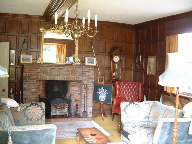 Haughley House B&B guest living room