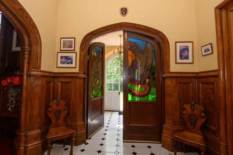 Heads Nook Hall b&B hallway