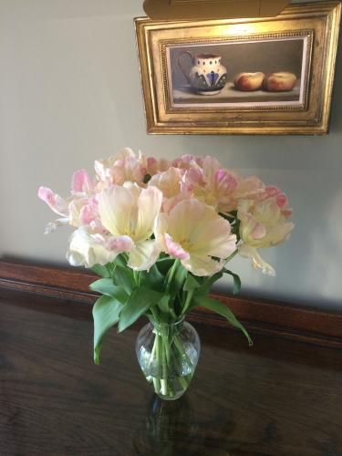 Horseshoe Cottage Farm B&B flowers