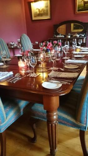 Kilmokea B&B-the dining room