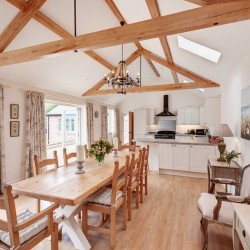 Wrackleford estate Langford Barn self catering sitting room