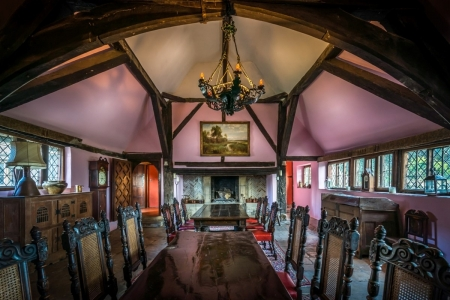 Long Crendon Manor medieval hall
