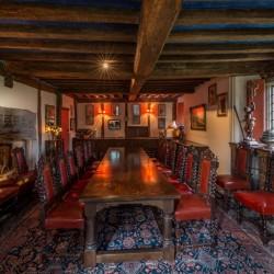 Long Crendon Manor B&B - dining hall