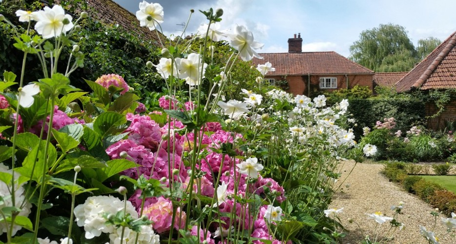 Manor House Farm B&B - gardens