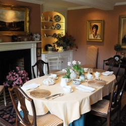 Manor House Farm B&B - dining room