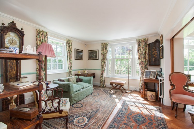 Marston House B&B - sitting room