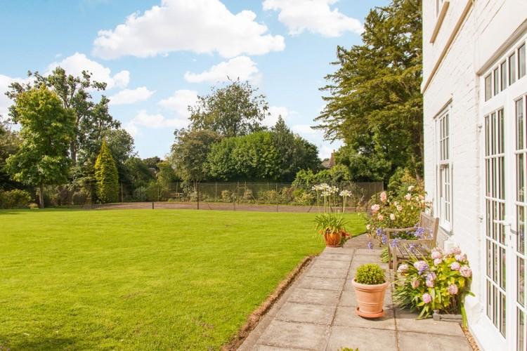 Marston House B&B -gardens