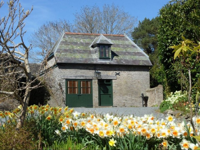 the old vicarage Powys coach house self catering