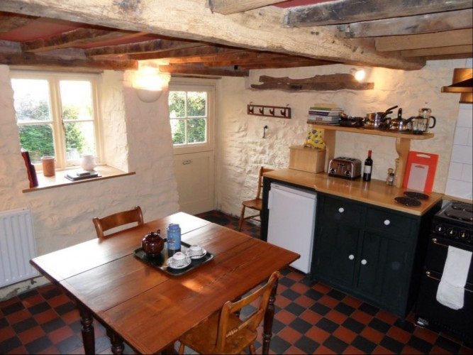 the old vicarage Powys cottage self catering